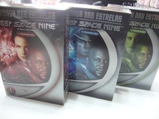Box Jornada Nas Estrelas Deep Space Nine - 3 Temporadas Dvd