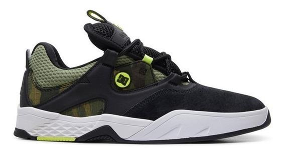 Tênis Dc Shoes Josh Kalis S Imp Oil Green - Exclusivo -promo