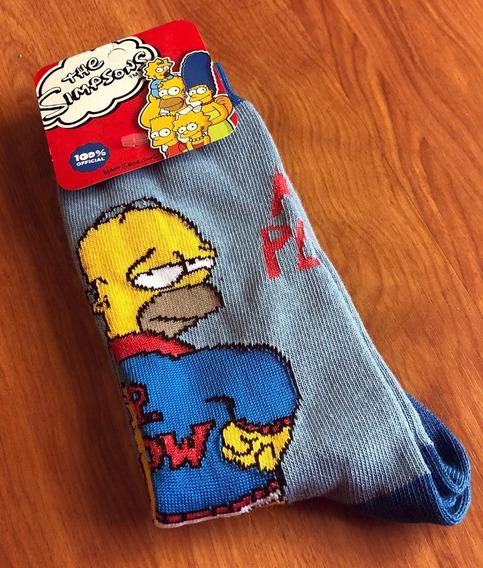 Medias Simpsons Promo   Bart Lisa Moe Homero