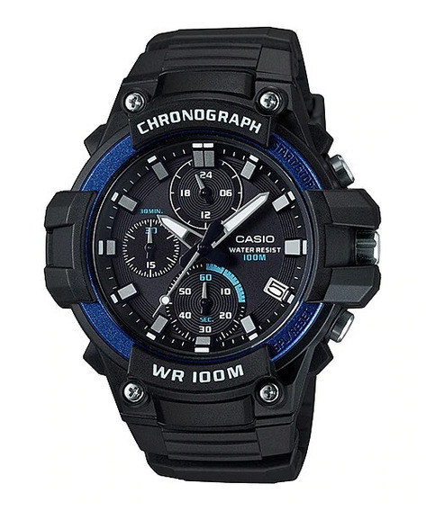 Relógio Casio Mcw 110 Masculino Mcw-110h-2avdf + Nfe