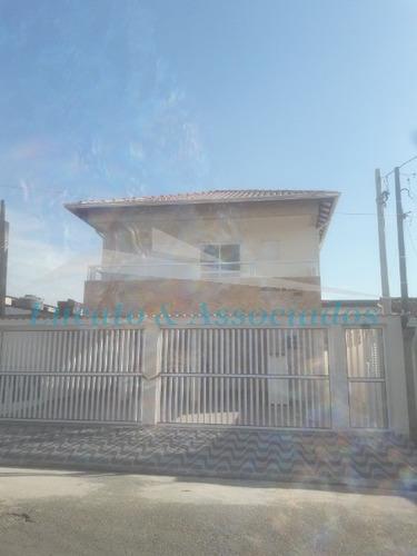 Casa Em Condomínio Fechado Na Vila Sonia Em Praia Grande Sp - Ca00255 - 33954518