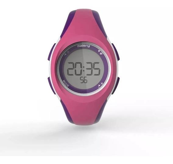 Relógio Esportivo Digital W200 Infantil Menina Criança