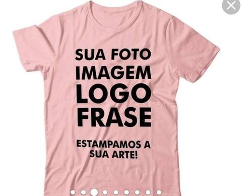 Imagem 1 de 1 de Camisetas Personalizadas Lindas