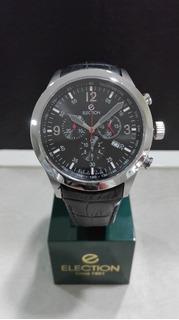 Reloj Election-hombre-cronografo - Cuero