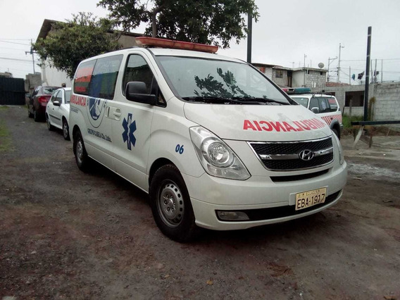 Vendo Hyundai H 1 Año 2012 Ambulancia Documentos Al Dia