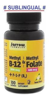 Metil Folato 400mcg & B12 Metilcobalamina 1000mcg 100 Tablet