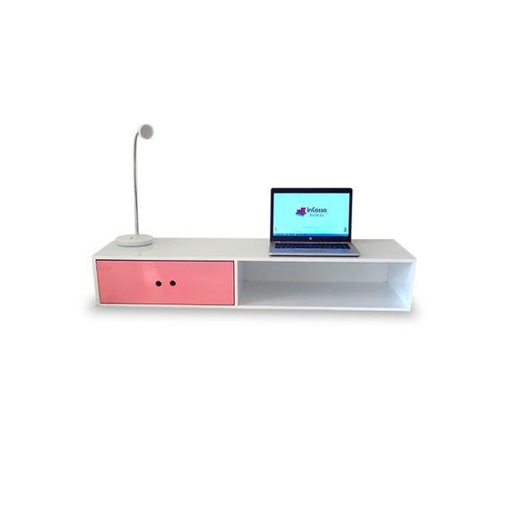 Mueble De Oficina Escritorio Moderno Flotante Mod Dijon