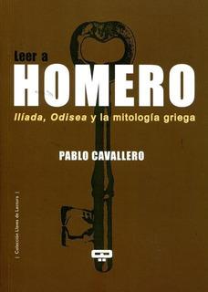 Leer A Homero, Cavallero, Quadrata