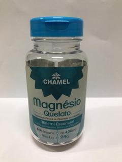 Magnésio Quelato 60cps 400mg