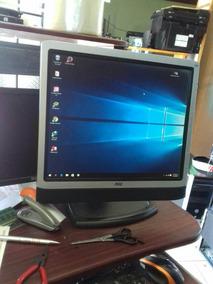 Monitor Cpu 17 Pulgadas Cable Vga Y Corriente Envios