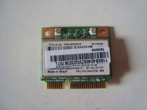Placa Pci Wireless Wi Fi Lenovo G485 - Envio Já