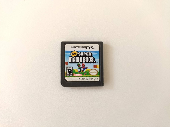 New Super Mario Bros Nintendo Ds Sem Capa Original 3ds Ds