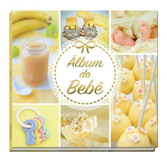 Álbum Do Bebê -amarelo