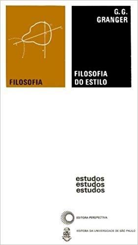 Livro Filosofia Do Estilo