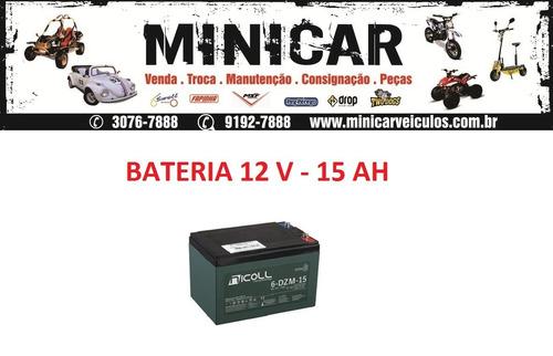 Imagem 1 de 1 de Bateria Para Scooter / Skate Elétrico  12 V - 15ah