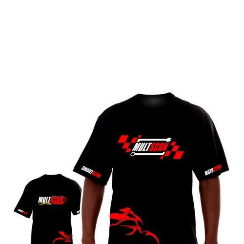 Camiseta Multscan