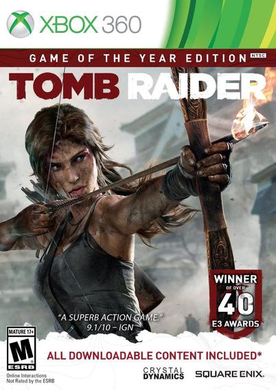 Tomb Raider: Game Of The Year Edition (português) - Xbox 360