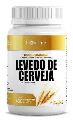 Imagem 1 de 3 de Levedo De Cerveja Complexo B 500mg 400cpr Fitoprime