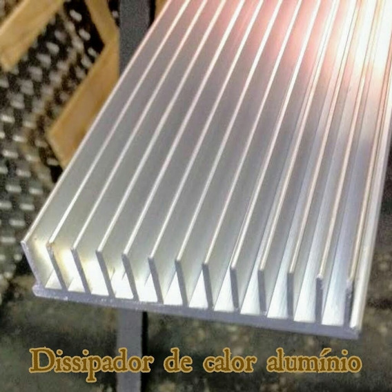 Dissipador De Calor Aluminio 15cm Comp.x10,5cm Larg.x2,5 Alt