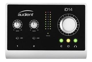 Interface De Audio Usb Audient Id14 Cuotas