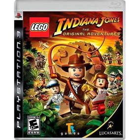 Lego Indiana Jones: The Original Adventures - Ps3 Mídia Físi