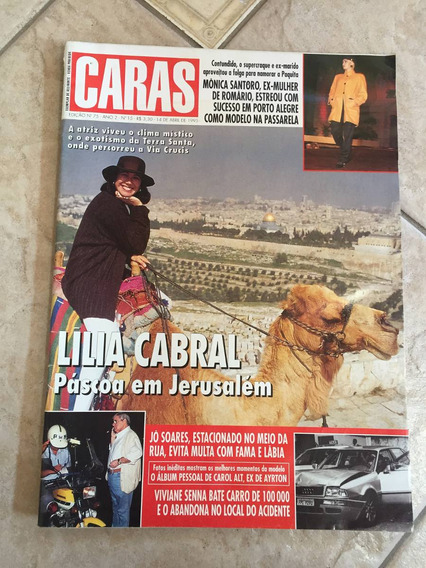 Revista Caras 75 Lília Cabral Fátima Bernardes D518