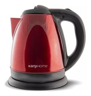 Pava Electrica Kanji Home 1.8 Lts Rojo Corte Ebullicion