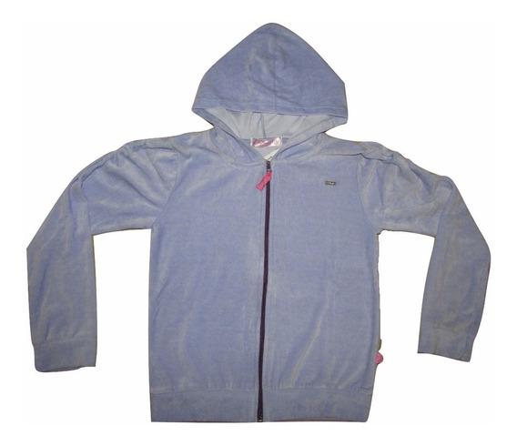 Jaqueta/casaco De Plush Com Capuz Tamanhos 04 A 16