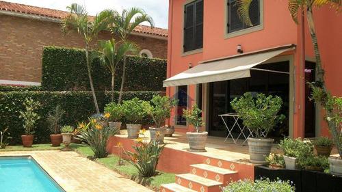 Casa Residencial À Venda, Jardim Paulista, Atibaia. - Ca0188