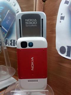 Nokia 5300 Telcel Rojo/blanco ---envío Gratis---