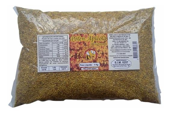 Pólen Apícola Desidratado - Pacote 1 Kg