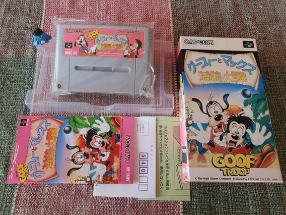 Super Famicom Goof Troop Original