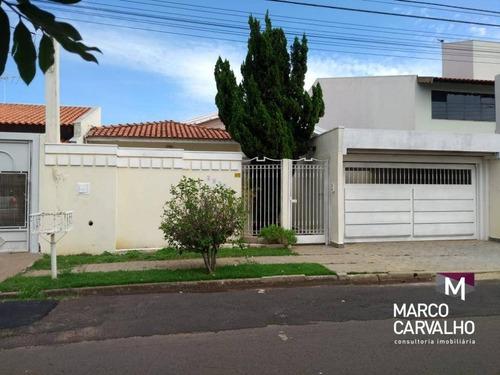 Casa Com 4 Dormitórios À Venda Por R$ 1.200.000,00 - Jardim São Domingos - Marília/sp - Ca0396