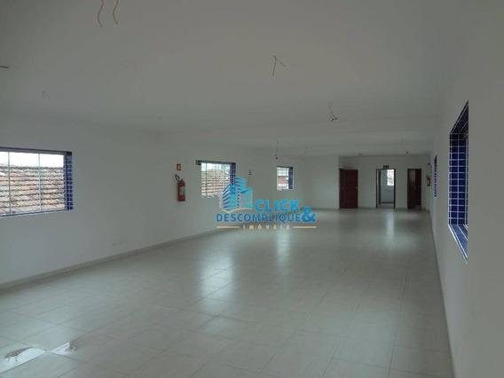 Prédio Comercial Para Locação, Embaré, Santos. - Pr0001