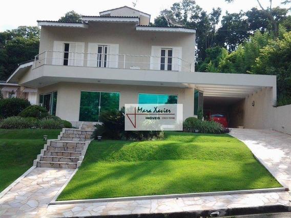 Sobrado Com 3 Dormitórios À Venda, 326 M² Por R$ 1.350.000 - Condomínio Chácaras Do Lago - Vinhedo/sp - So0453