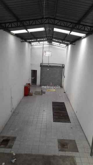Salão À Venda, 105 M² Por R$ 750.000,00 - Santa Paula - São Caetano Do Sul/sp - Sl0053