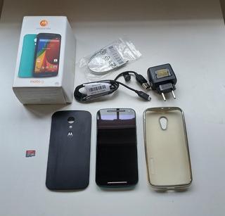 Smartphone Motorola Moto G 2ª Geração Dtv Colors Xt1069 16gb + Cartão 32gb
