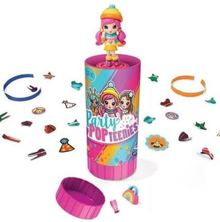 1 Muñeca Sorpresa Party Pop Teenies Surprise Popper Serie