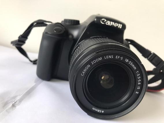 Camera Canon Eos T3 + Case + Cartão Memória 32 Gb