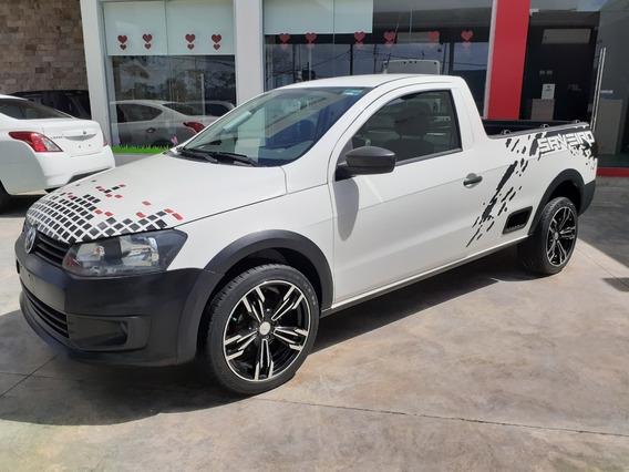 Volkswagen Saveiro 1.6 Starline Aa/dh Mt 2016 Blanco Candy