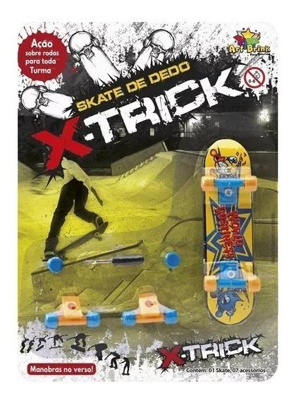 Kit 30 Skate De Dedo + Acessorios Brinquedo / Lembrancinha