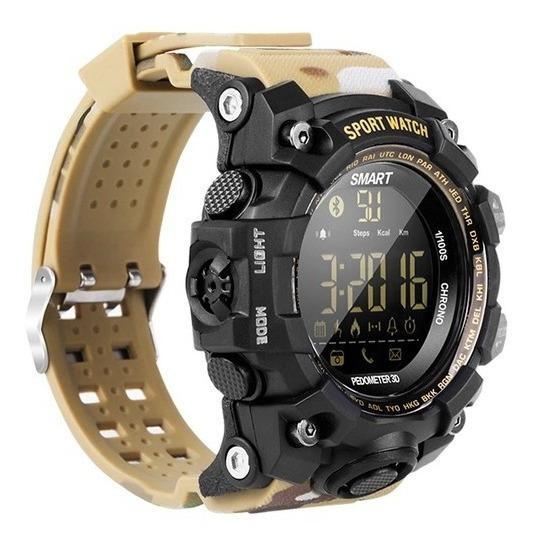 Reloj Deportivo Inteligente Bluetooth Smartwatch Ex16 S