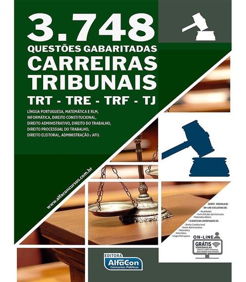 3.748 Questões Gabaritadas Carreiras Tribunais