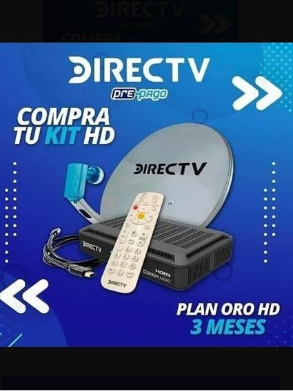 Kit De Dirctv Hd Prepago Venezolano + Kit De Instalación