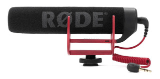 Micrófono Rode VideoMic GO dinámico negro