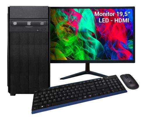 Computador Completo Intel I5 16gb Hd 500gb Dvd Kit S/fio