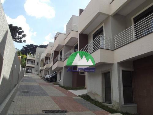 Sobrado Com 3 Dormitórios À Venda, 151 M² Por R$ 595.000,00 - Seminário - Curitiba/pr - So1235