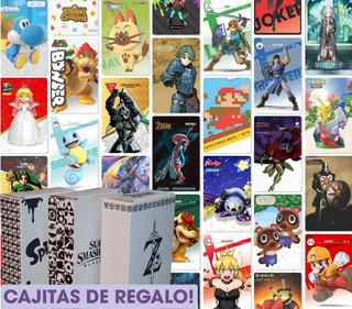 Tarjetas Nfc Amiibo - Zelda, Smash, Mario, Fire Emblem, Etc.