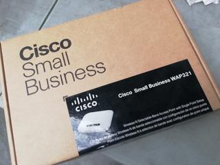 Cisco Sb Ap Wap321 C/cargador