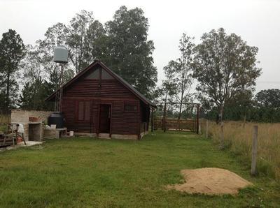 Cabaña 2 Dormitorios Y Baño (ituzaingo, Corrientes)